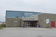 Image of the arena exterior.